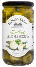 Paisley Farm Dilled Brussels Sprouts, 24oz
