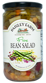 Paisley Farm Five Bean Salad, 24oz